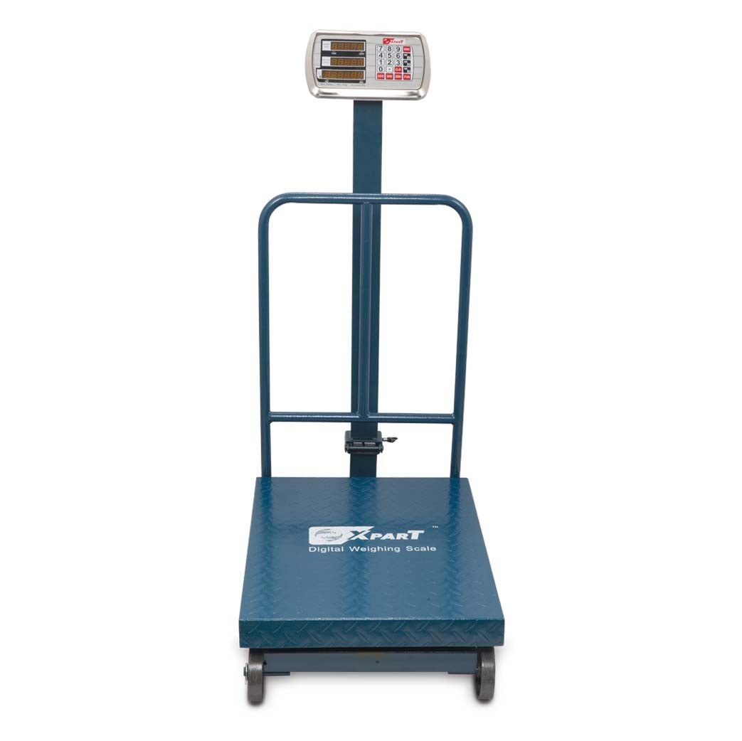 WEIGHING SCALE 300KG-XPART (MS Folding with Wheel)